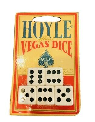 Hoyle Official Vegas Dice Sealed Package