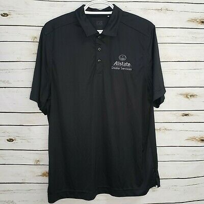 Unisex CHECKERS RALLY/'S Burgers Fast Food Uniform Employee Work Polo Shirt Large