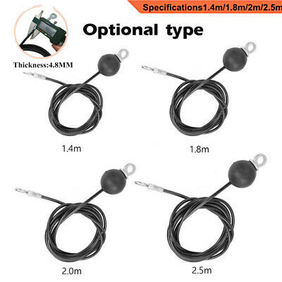 New Cable Wire Gym Fitness Home Gym Parts Heavy Duty Dia 5mm 1.4M-3M Accessories