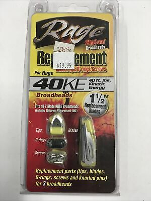 O-rings Replacement for Rage Broadheads 6pk