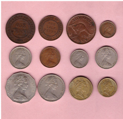 Australia - Coin Collection Lot - World/Foreign/Oceania