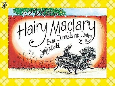 Hairy Maclary from Donaldson's Dairy, Paperback by Dodd, Lynley, Brand New, F...
