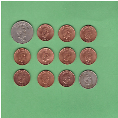 Zambia - Coin Collection Lot - World/Foreign/Africa