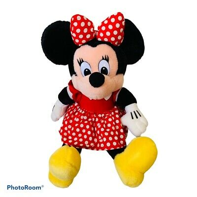 Disney Parks Epcot Norway Norse Minnie Mouse Plush New with Tag
