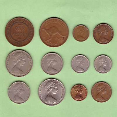 Australia (1921-1978) - Coin Collection Lot - World/Foreign/Oceania