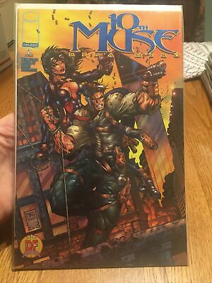 10th Muse #1 Image Comics Dynamic Forces Exclusive Gold Foil Cover W// COA
