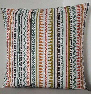 SINGLE TRENDY CUSHION COVERS RED HEARTS GREEN APPLE PEAR BLUE ORANGE BACKING