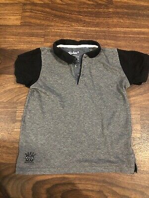 Boys Primark Polo Shirt Age 7-8 Gc