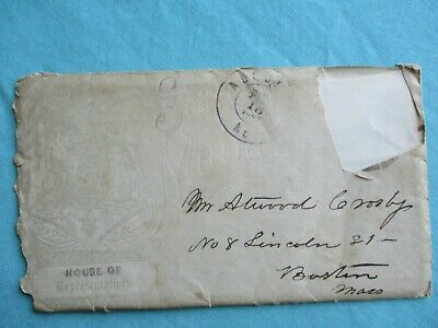 1864 (Captured at Bull Run/Libby Prison) Atwood Crosby Surgeon, Boutelle letter!