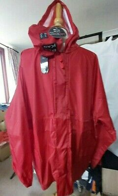 Outdoor,Bag The Kag.32 11/12 Years Bnwt,Old Red Waterproof And Breathable
