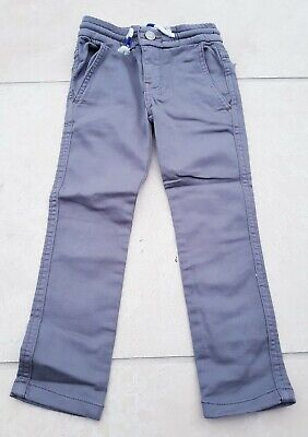 Mini Boden Boys Cotton grey trousers size 3 years BRAND NEW