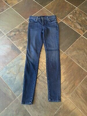 J Brand Dark Blue Jeans Womens Super Skinny 26!!