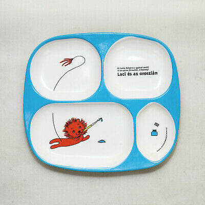 Children's Dinner/Meal Tray Plate (Hungarian Lion)