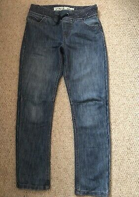 Primark Boys Jeans 9-10 Years New Dark Blue Pull-On