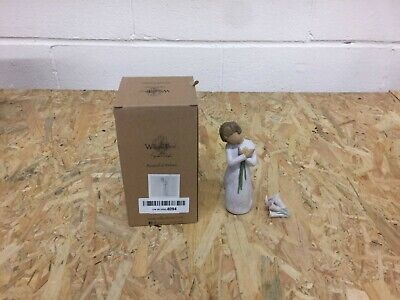 Willow Tree Beautiful Wishes Figurine 26246 Gift/ornament Boxed BROKEN FLOWERS