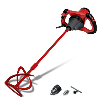 Mortar Grout Mixer 120-Volt 2-Speed Gearbox Key Chuck Included