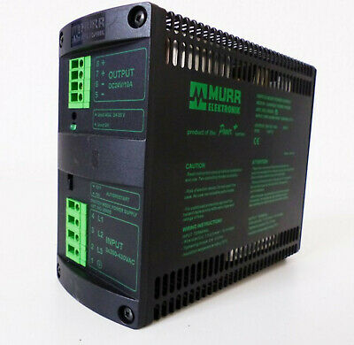 Murr Elektronik MCS10 85095 Netzteil In=3x380-430V 0,7A Out=24VDC 10A -used-