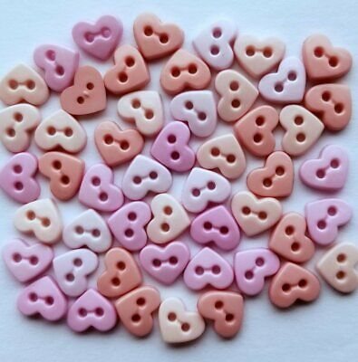 Micro Valentines Hearts Buttons Dress It Up
