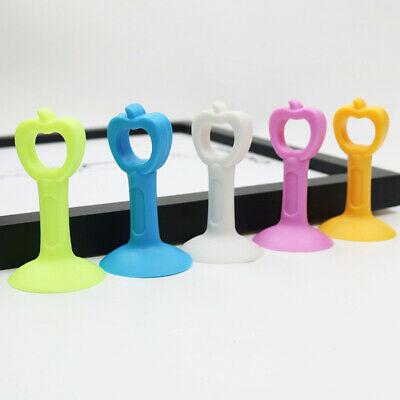 Mute Crash Lock Door Pad Handle Attached Silicone Anti-collision Door Stopper L