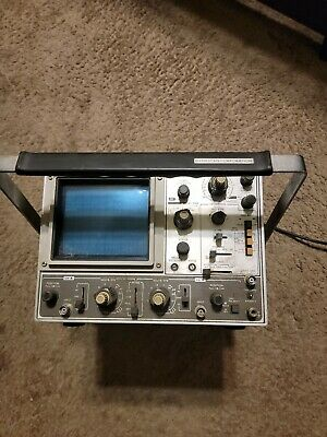 B&K MODEL 1525 DYNASCAN CORP delayed trigger oscilloscope