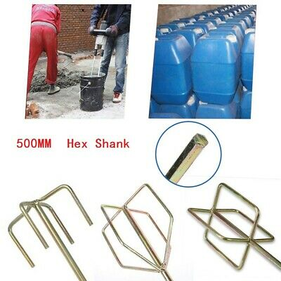 Heavy-Duty Paint Mixer Drill Paddle Plaster & Cement Mixing Stirring Whisk-Tool