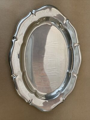 """Weidlich Brothers Sterling Silver Serving Tray Platter American 13.5"""" By 9.75"""""""