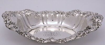 Art Nouveau Sterling Silver Tray Violet by Whiting Manufacturer 1908