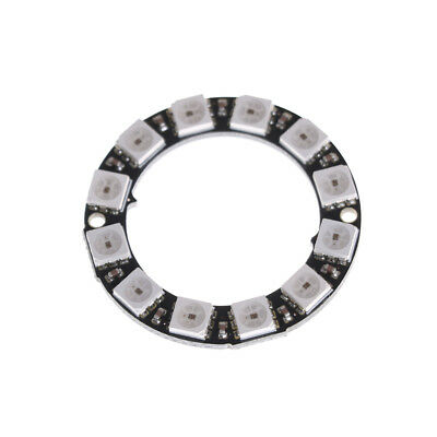 RGB LED Ring 12Bit WS2812 5050 RGB LED + Integrated Driver Module for arduino PG