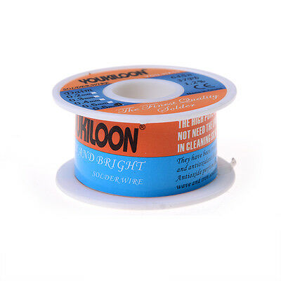 New 0.6mm Tin Lead Tin Wire Melt Rosin Core Solder Soldering Wire Roll Best PG