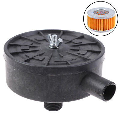 Air Filter Silencer Air Compressor 20mm Male Thread Canister Filter Silencer PG