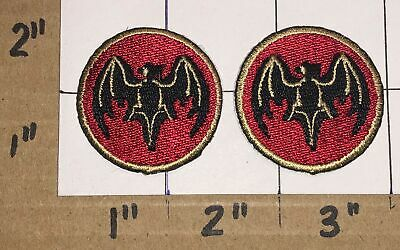 2 Bacardi Limited White Rum Spirits Patch Crest Lot