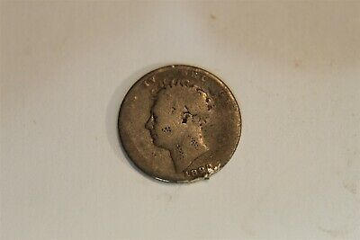 Great Britain 1829 6 Pence George Iv Silver