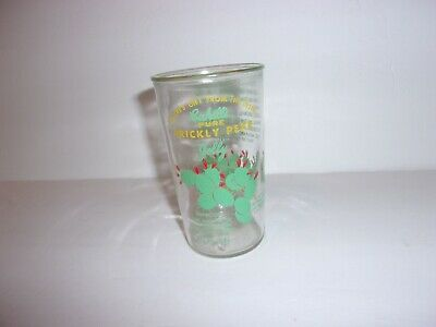 Vintage Cahill's Pure Prickly Pear Cactus Jelly Glass1958