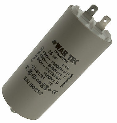 Capacitor 230/240V Fits BELLE Mini Mix 150 Cement Mixer (July 1999