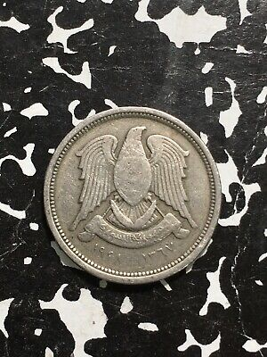 1948 Syria 10 Piastres (3 Available) Circulated (1 Coin Only)
