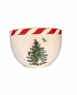 Spode Christmas Tree Candy Cane Striped Small Dipping Dip Bowl S3324-A12