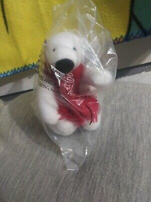 NEW Factory Sealed 2014 Coca-Cola Polar Bear plush