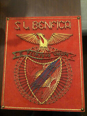 sl benfica vintage art old collectable football art