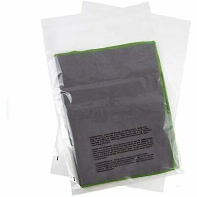 Poly Bags 14x20 With Suffocation Warning - Extra Strong Seal 200 Pack 14x20&quot