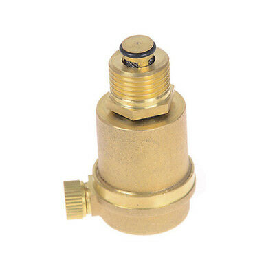 "1/2"" Brass Air Vent Valve Pressure Vent Valve for Solar Water Heater Relie Y_B6"