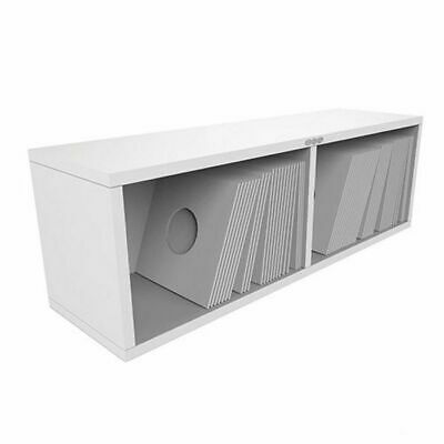 Zomo VSBox 7 Inch 45 Vinyl Record Storage Box 200 (white, flat-packed)
