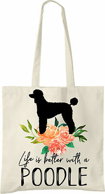 Poodle Life is Better Tote Bag