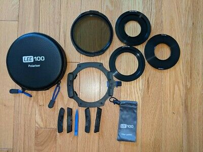 LEE 100 filter holder and polarizer with ND filters and adapters