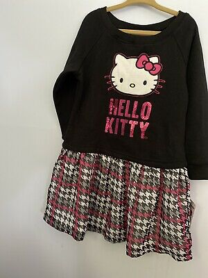 Hello Kitty Dress. Black And Pink. Size 6x