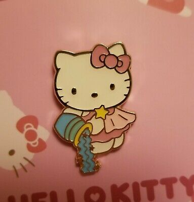 Sanrio Hello Kitty Horoscope Aquarius Pin