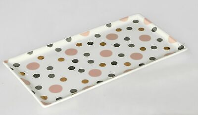 Formano Plate Porcelain with points; approx 31x17cm