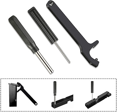 Glock Tool Kit Front Sight Tool Magazine Disassembly Tool Pin Punch 19 17 26 43