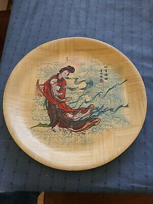 Decorative serving Bowl and plate made in Taiwan Rep of China