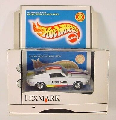 Details about  /Vintage 1998 Hot Wheels Special Edition 1968 Custom Mustang Lexmark Box