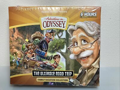New Adventures In Odyssey The Ultimate Road Trip Family Vacation Collection 6 Cd 24 99 Picclick